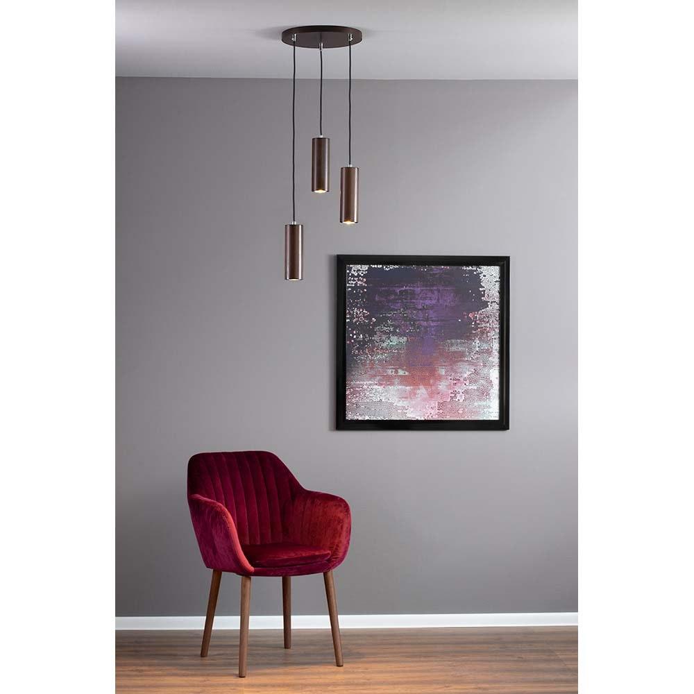 LED Pendellampe Pipe 350lm Nuss 3