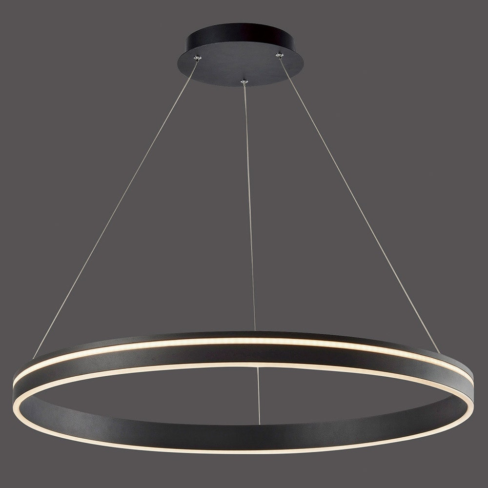 LED Hängeleuchte Q-Vito Ø 79cm CCT Anthrazit thumbnail 4