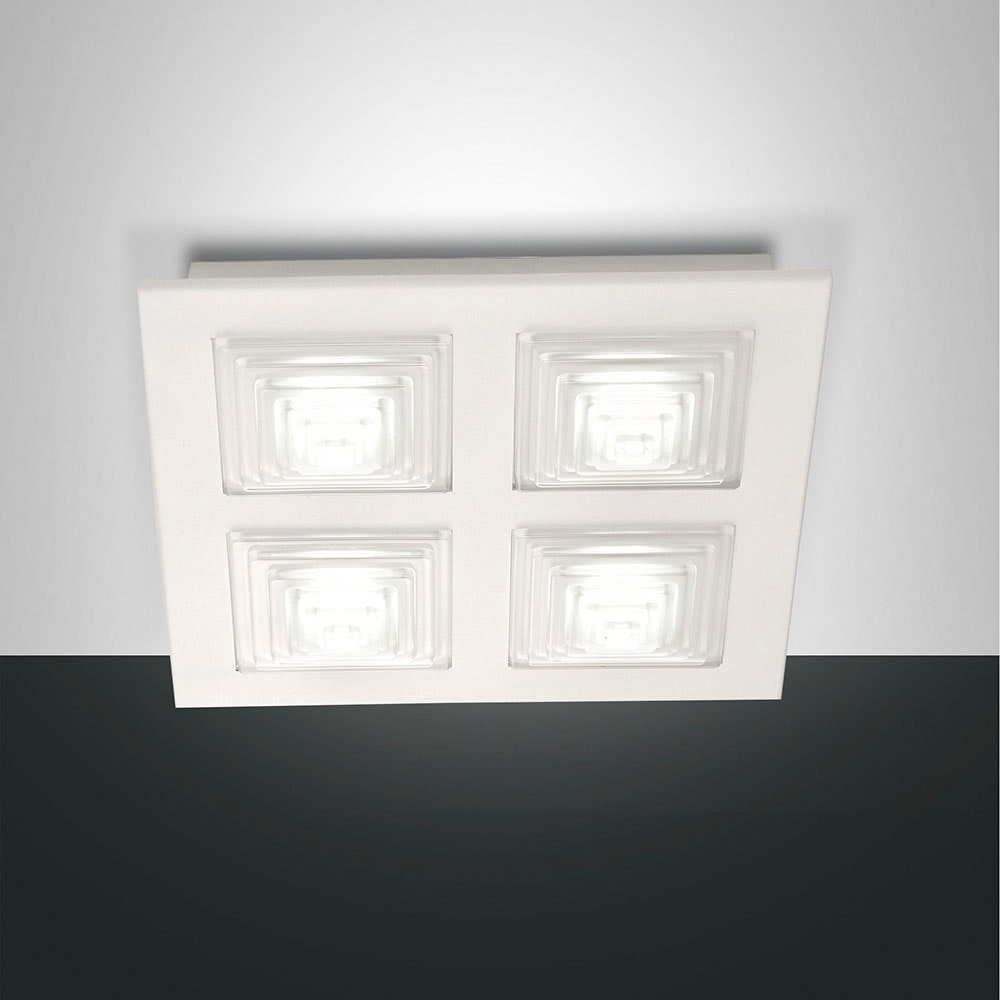 Fabas Luce LED Deckenleuchte Formia 4-flammig 1