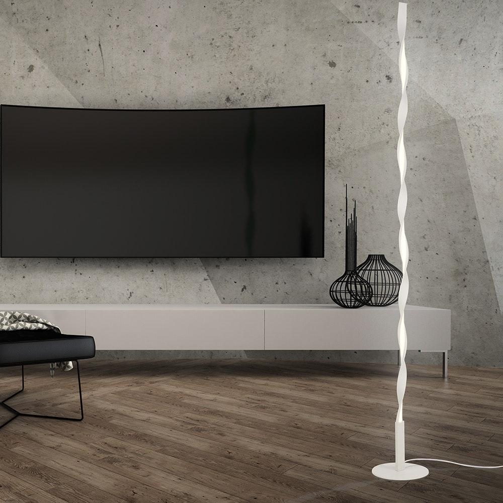 Mantra Madagascar LED-Stehlampe Weiß Dimmbar 1