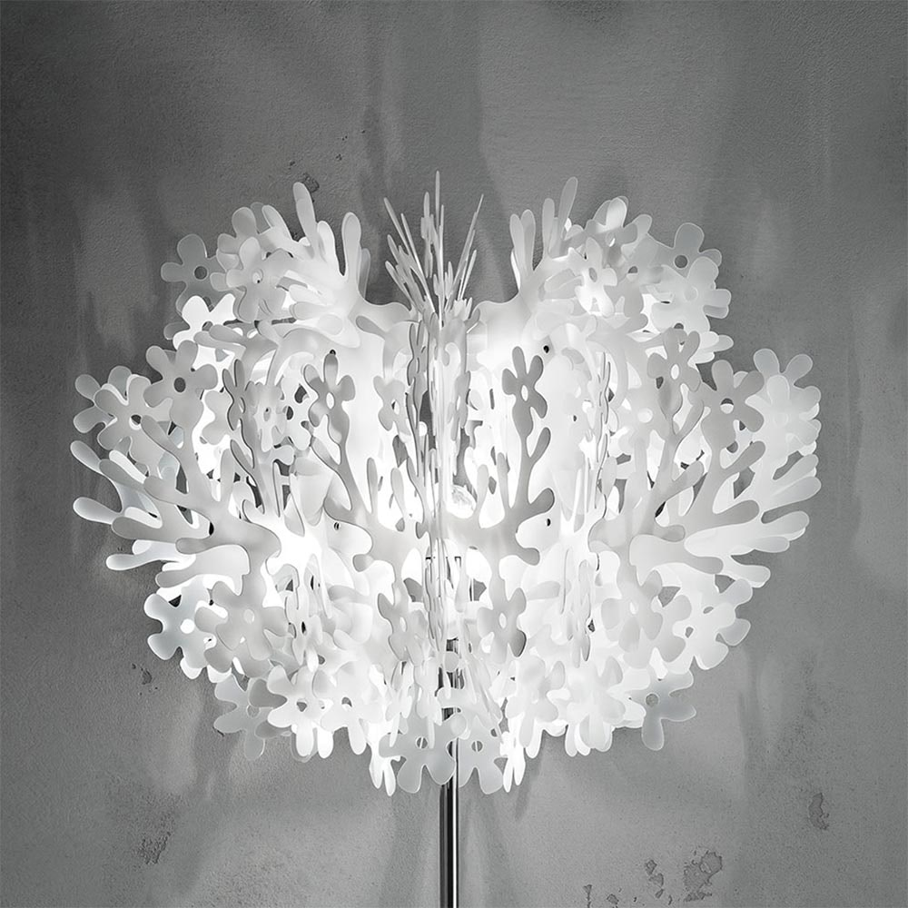 Slamp Stehlampe Fiorella Weiß 2