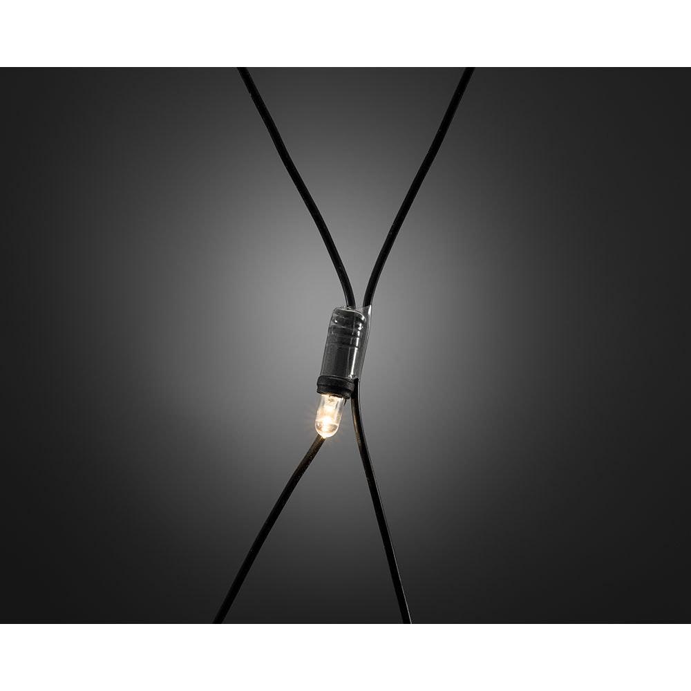 Maxi LED kompakt System Basis-Set: Lichternetz 104 Warmweiße Dioden IP44 3