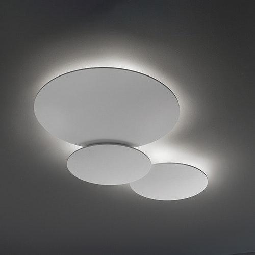 Studio Italia Design Puzzle Mega Round Ø 53cm Wand- & Deckenlampe Weiss 1