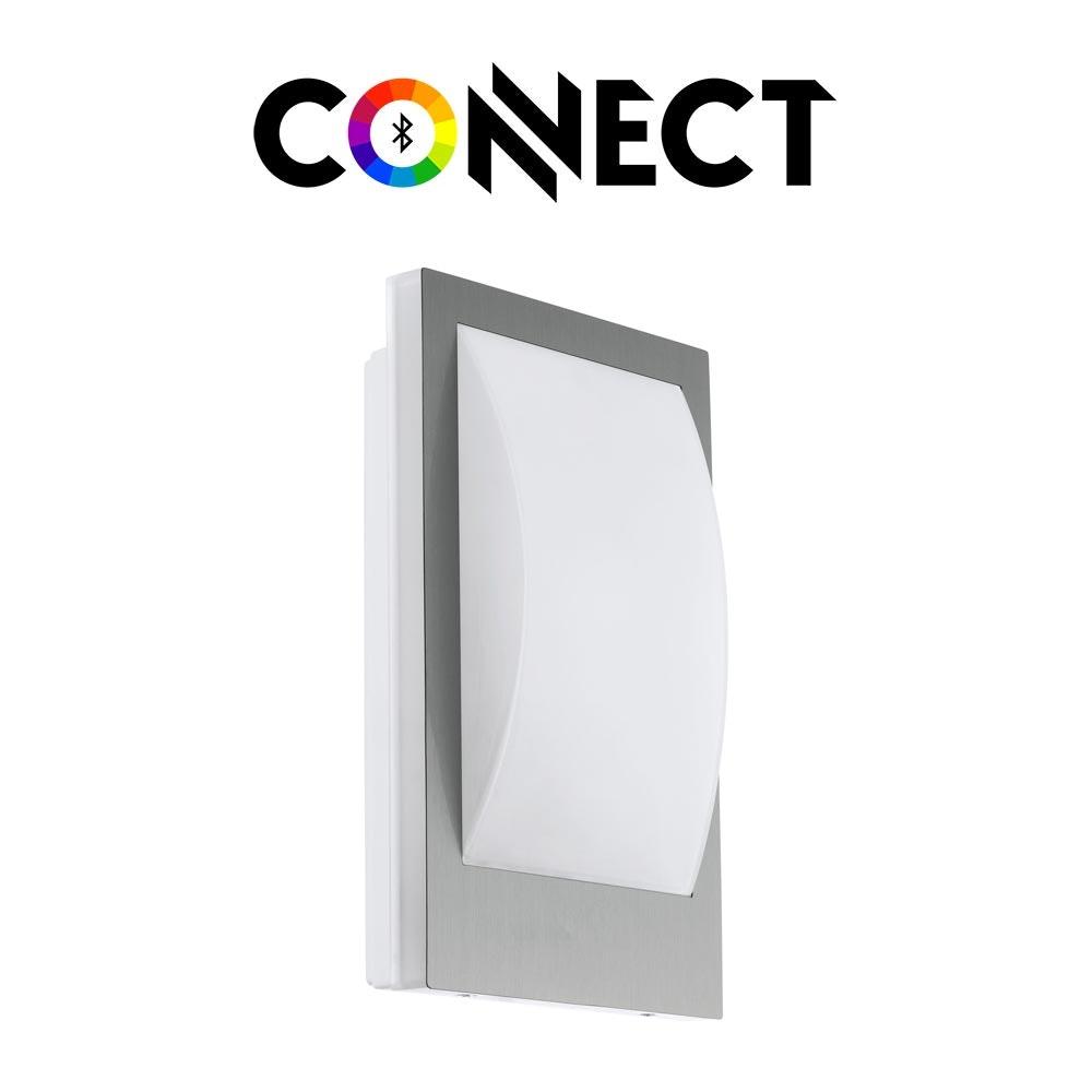 Connect LED Aussenwandlampe 806lm IP44 Warmweiß