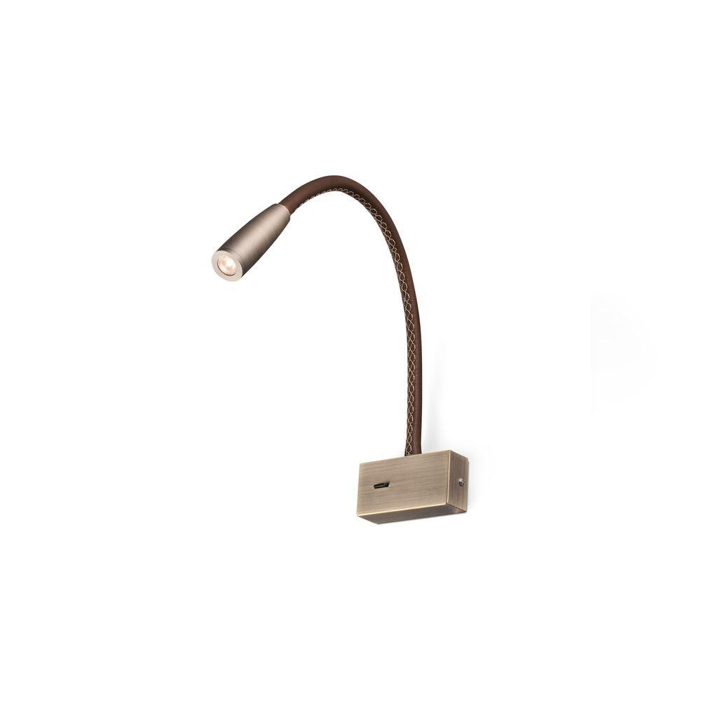LED Wand-Leselampe LEAD 3W 3000K Bronze