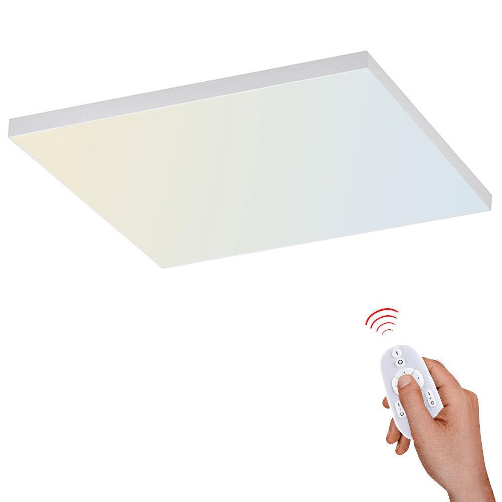 Q-Flat 2.0 rahmenlose LED Deckenlampe 62 x 62cm CCT + FB Weiß 1