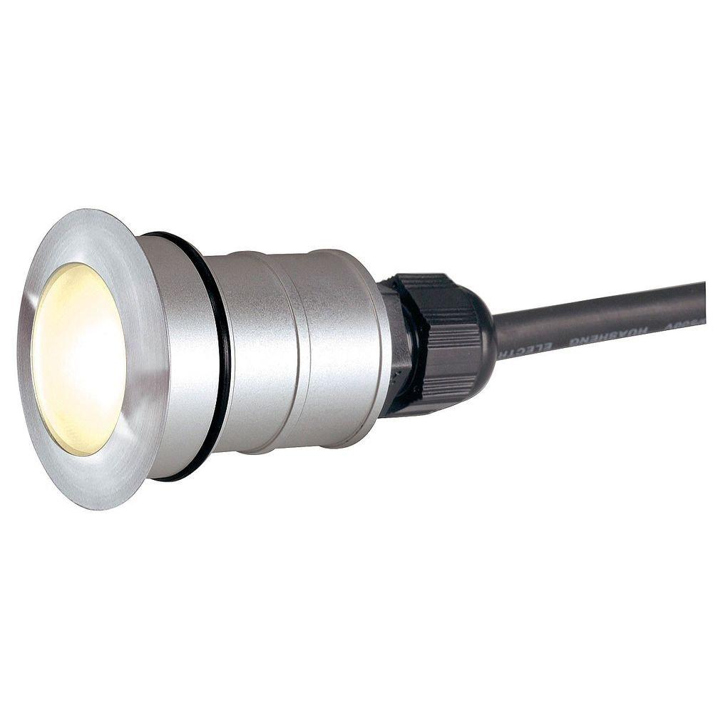 SLV Power Trail-Lite Round Edelstahl 316 1W LED 3000K IP67 1