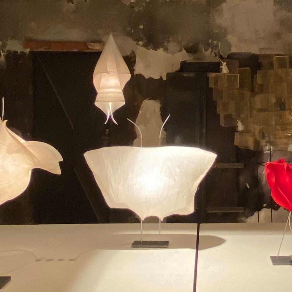 Ingo Maurer LED Tischlampe Samurai Papier 1