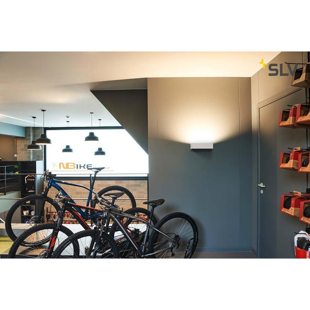 SLV Shell 30 LED Wandaufbauleuchte Weiß 3