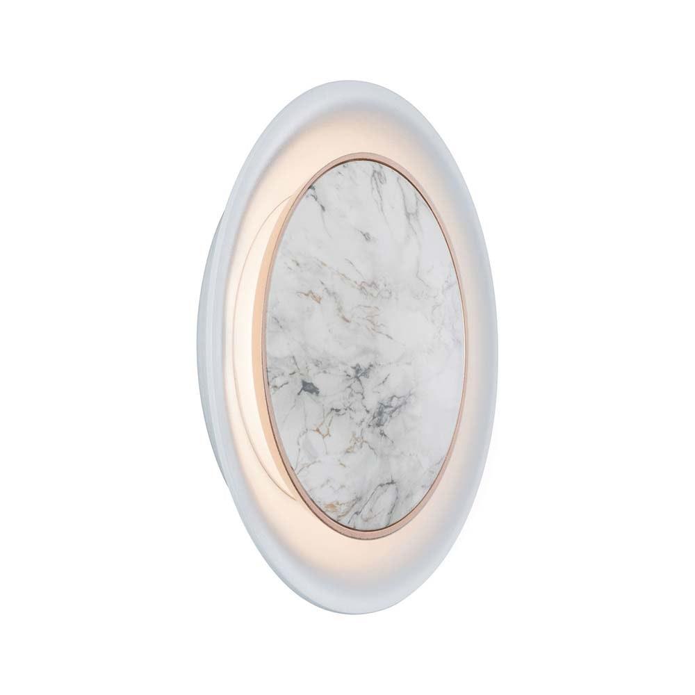 Wand Einbauleuchten-Set Neordic 2700K Marmor, Weiß 2