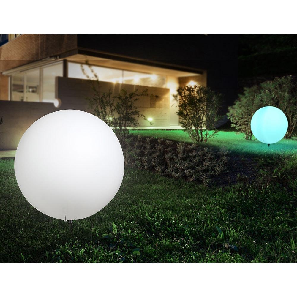 Licht-Trend Garten Kugellampe Avellan Ø60cm mit Erdspieß, 5 Meter Kabel 4