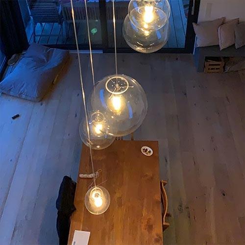 glas-lampe
