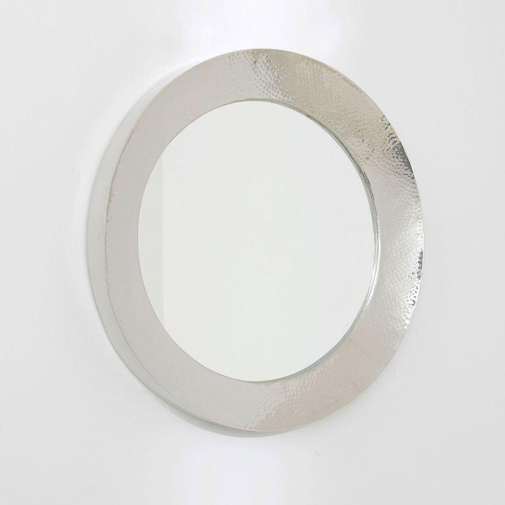Spiegel Piatto Aluminium-Spiegelglas Silber 2