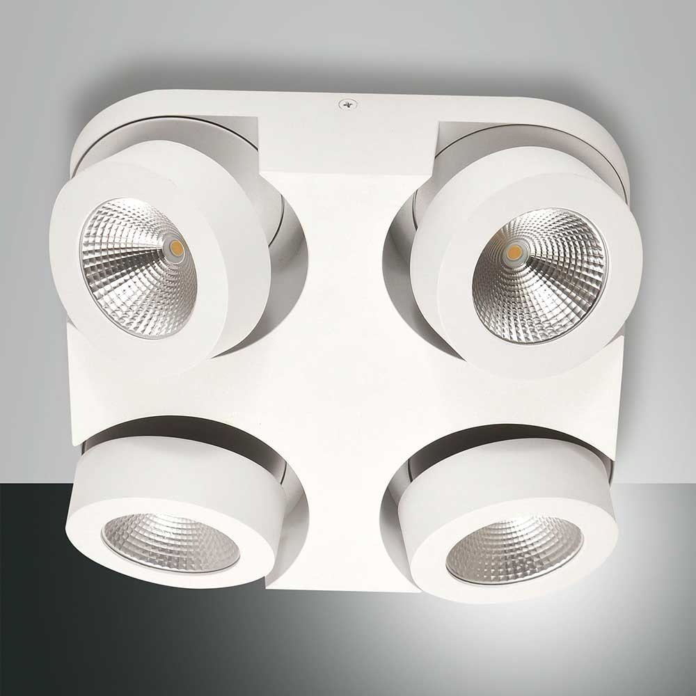 Fabas Luce LED Deckenleuchte Hella Ø 30cm 3