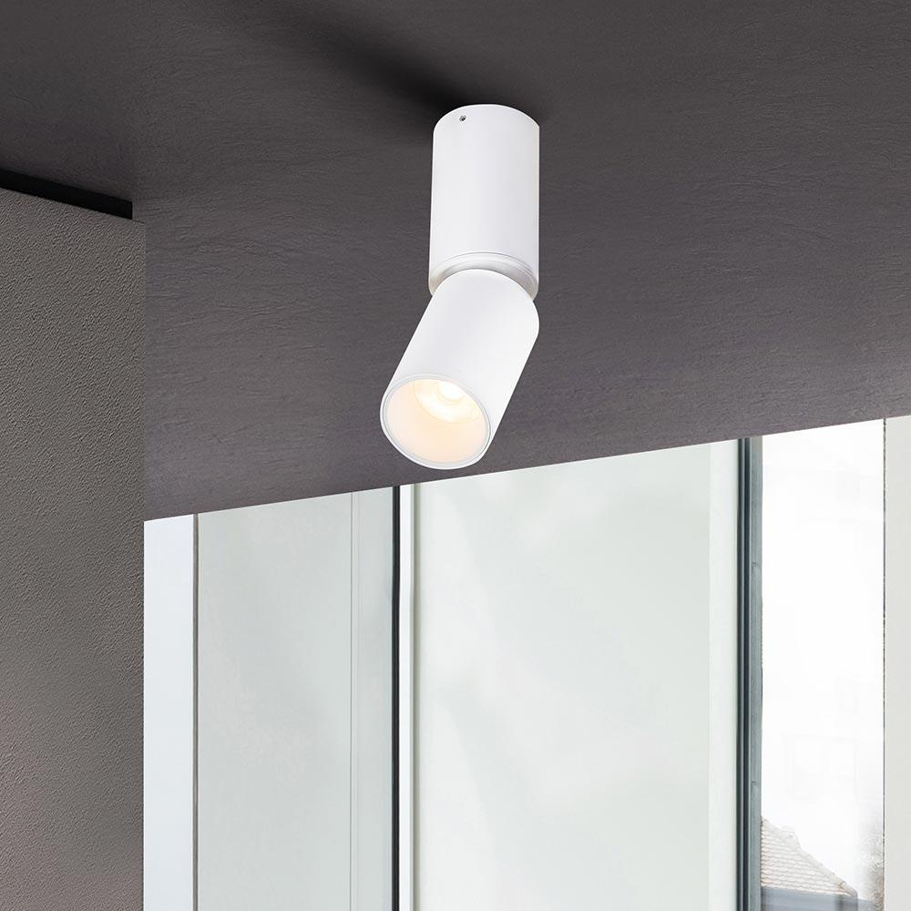 Licht-Trend LED Deckenspot Cordoba beweglich Weiß