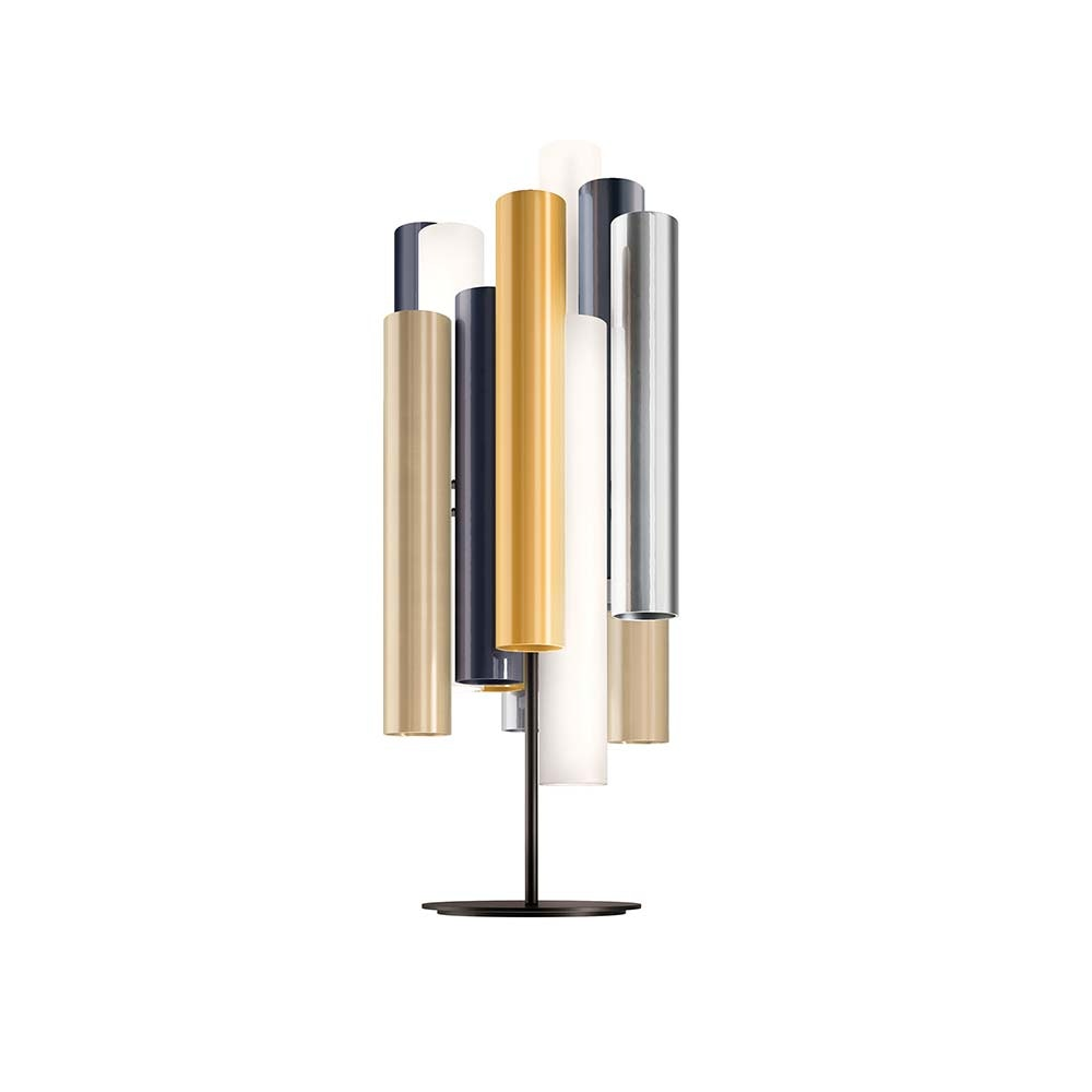 Kundalini LED Tischlampe Toot 62cm mit Dimmer Mehrfarbig 2