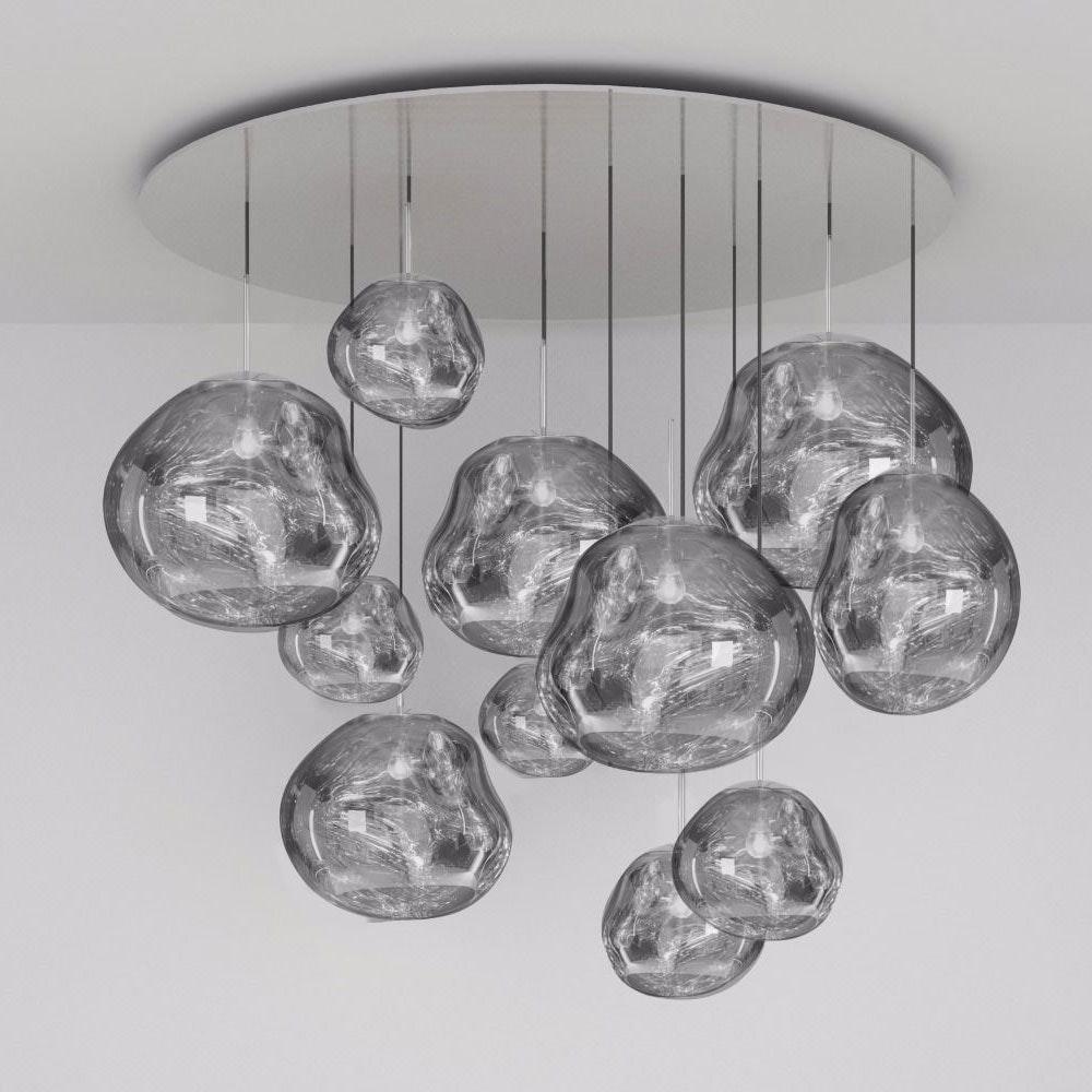 Tom Dixon Melt LED Mega XXL Hängeleuchte Ø 150cm thumbnail 6