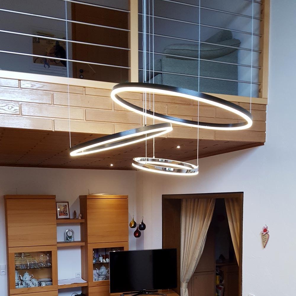 s.LUCE Ring Umbau zentrisch / exzentrisch (ohne LED-Ringe) 10