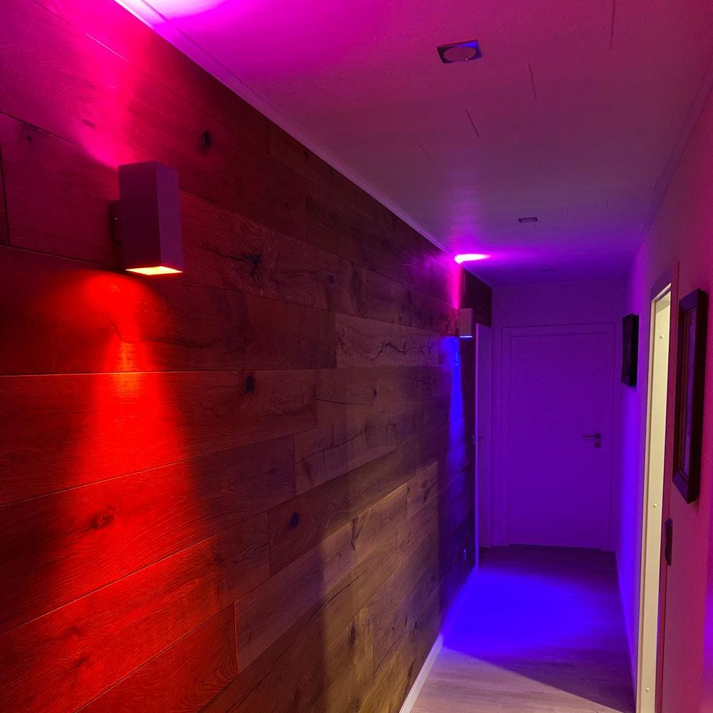 s.LUCE iLight GU10 LED COB 6W RGB + CCT 6