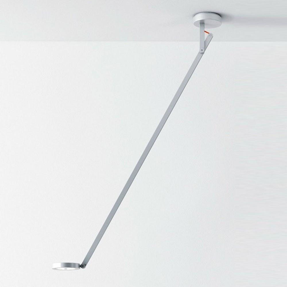 String LED-Deckenleuchte mit Dimmer Silber 1