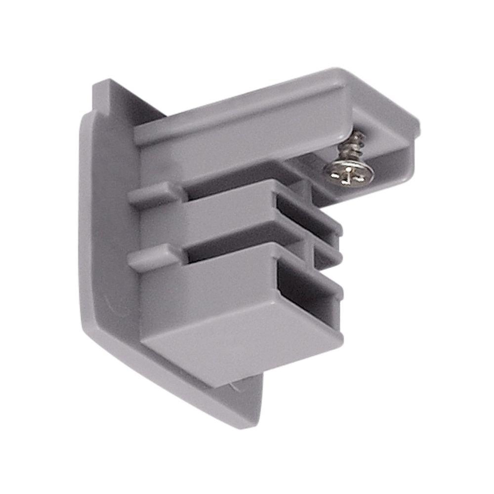 SLV Endkappe für S-Track 3P.Schiene Silbergrau