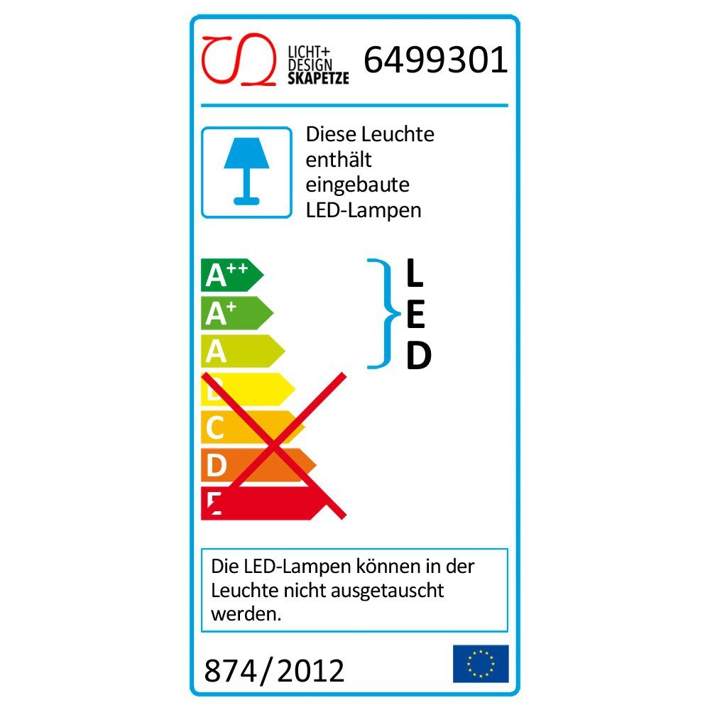 LED-Nachtlicht Steckerleuchte 3x LED 8cm 5