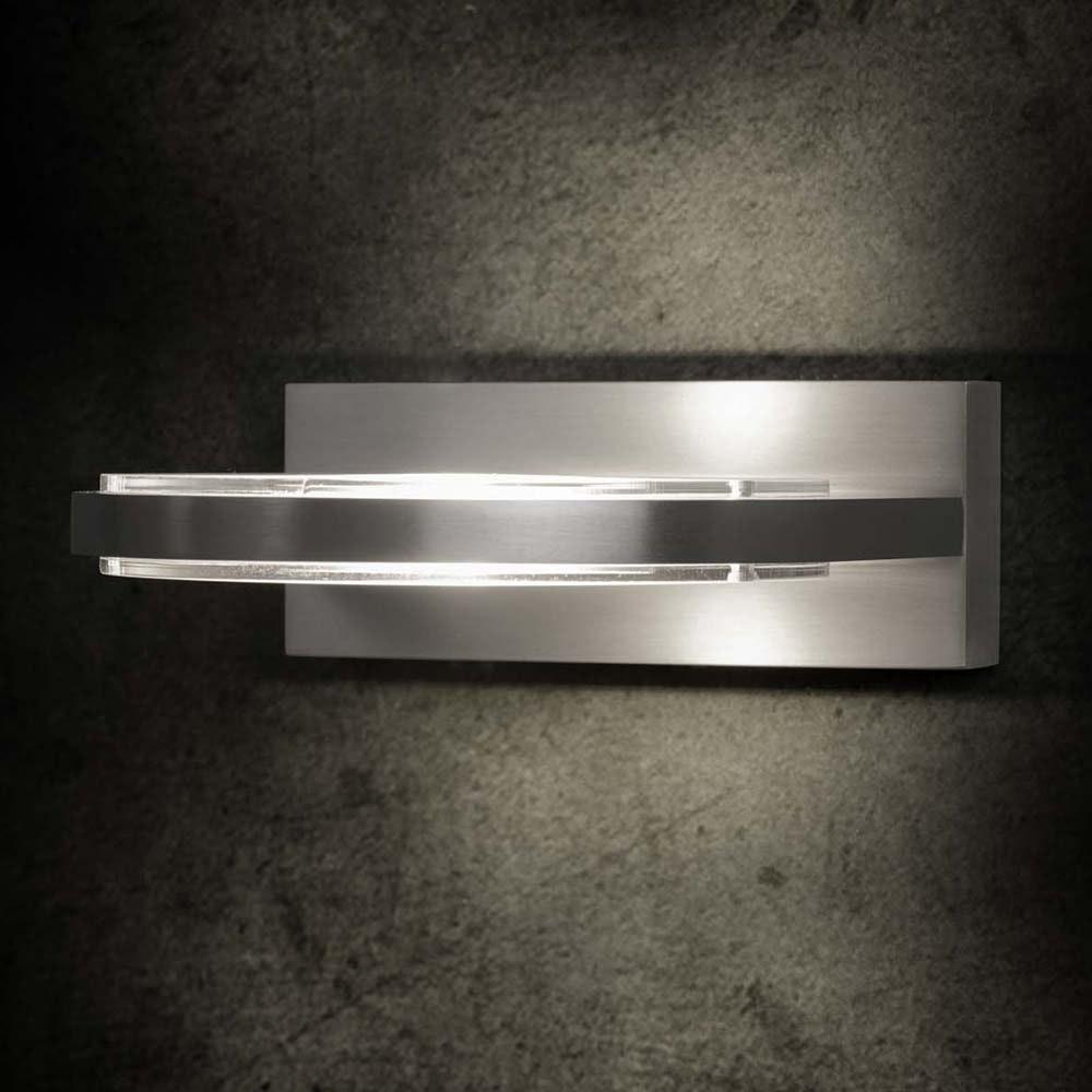 Wega LED-Wandleuchte 15cm Aluminium-matt 2