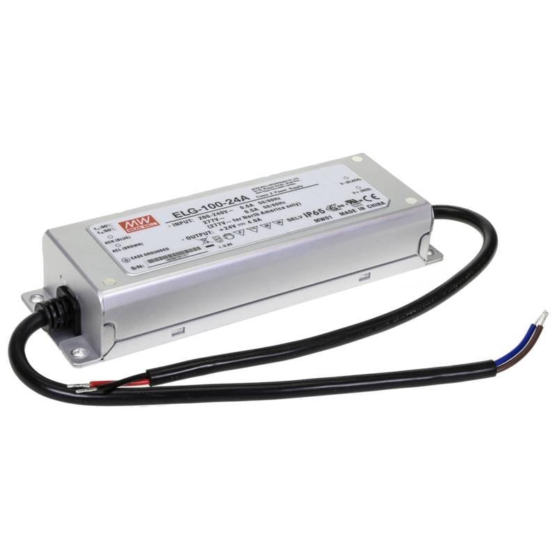 100W zertifiziertes Einbaunetzteil 24V IP65