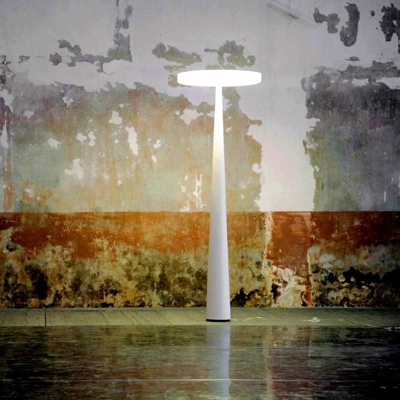 Prandina Aussen Stehlampe Equilibre F33 Weiß 2