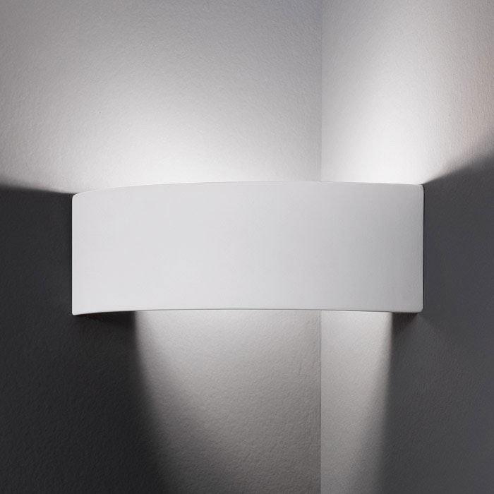 Arco Wandleuchte Weiß