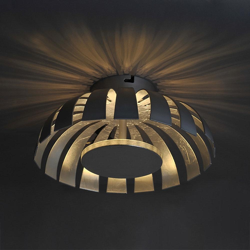 LED Wand- & Deckenleuchte Flare S Silberfarben 3
