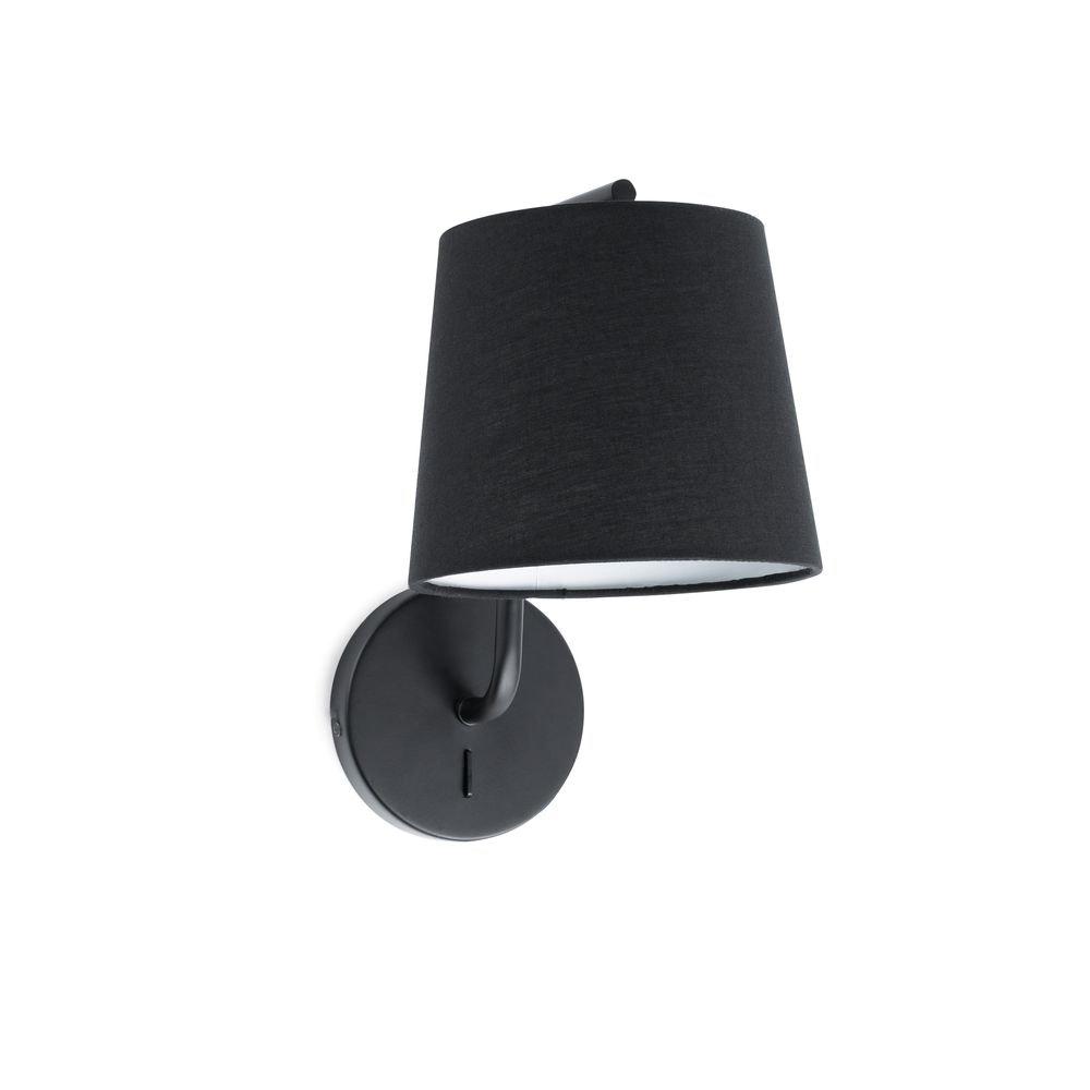 Wandlampe BERNI IP20 Schwarz 1