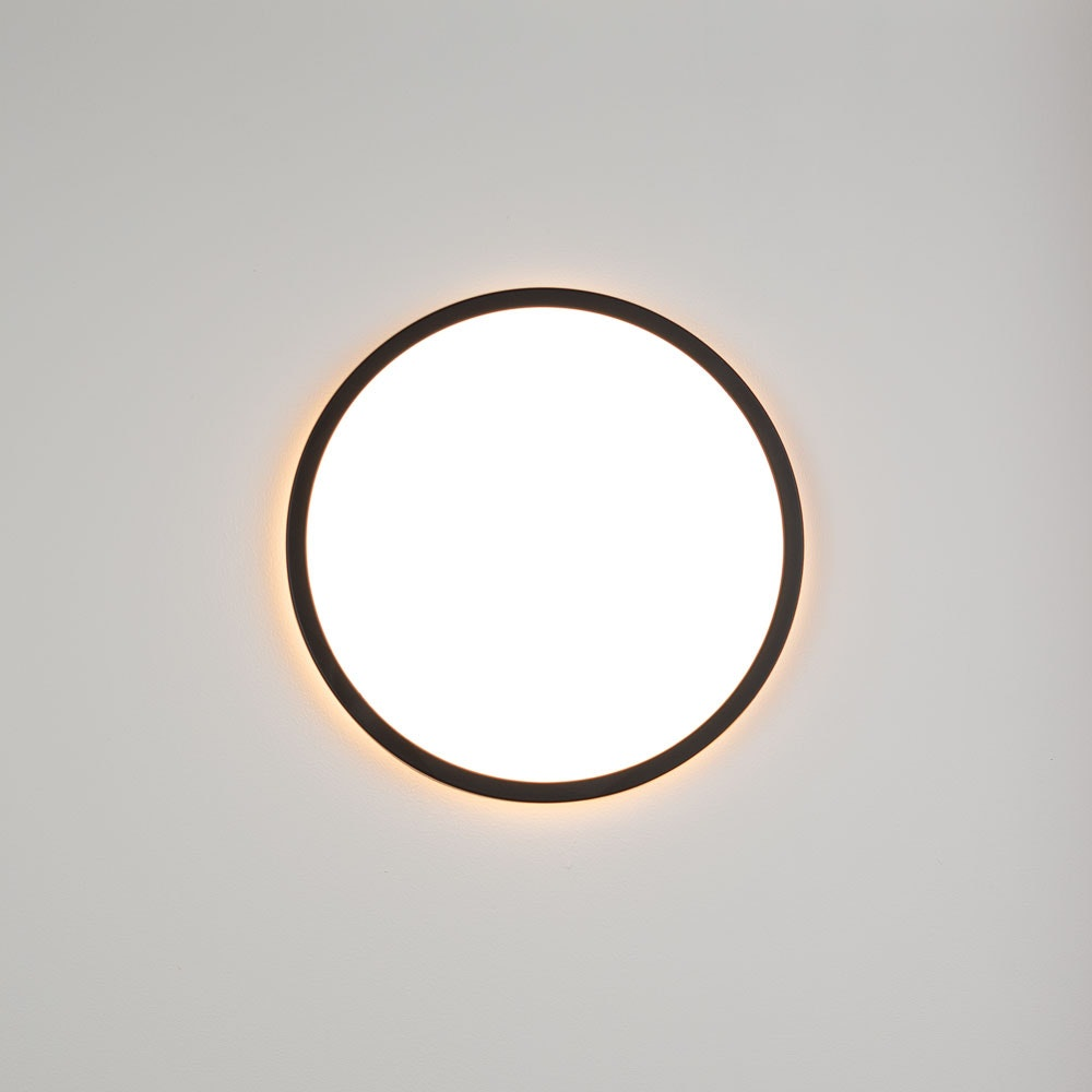 s.LUCE Disk 35cm LED Deckenleuchte warmweiß dimmbar 1