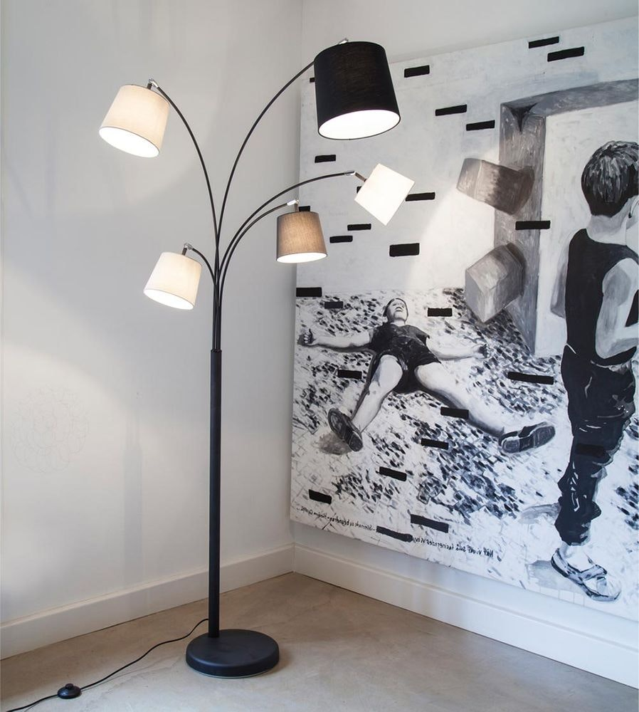 By Rydens Stehlampe Foggy 5-flg. 200cm 1