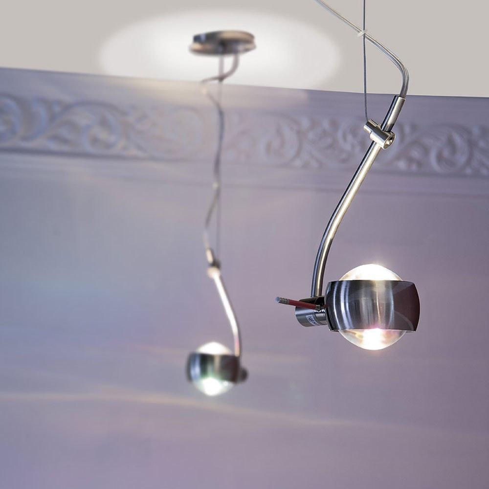 s.LUCE Beam Hängeleuchte mit Glaslinsen drehbar