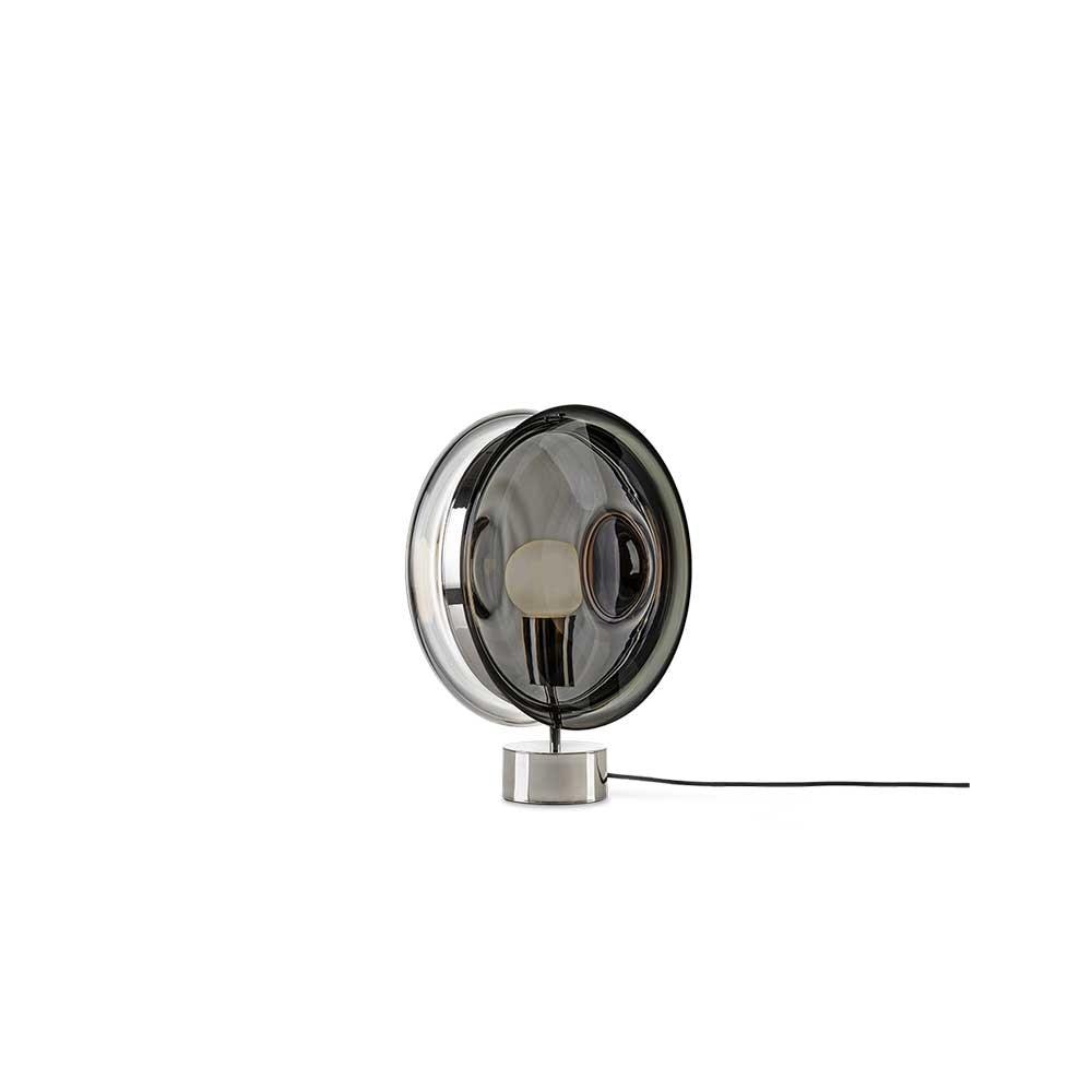 Bomma Glas-Tischlampe Orbital Ø 36cm 12