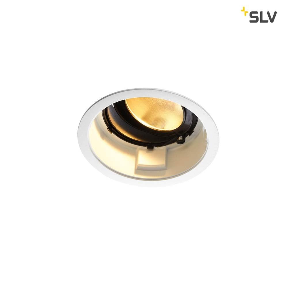 SLV Renisto LED Einbauleuchte 2500lm Rund Weiß 1