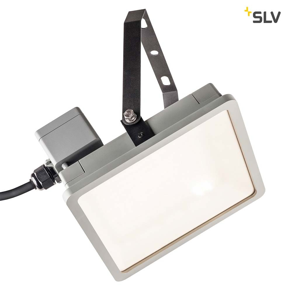 SLV Almino LED Aussen-Wandleuchte Grau IP65 thumbnail 3