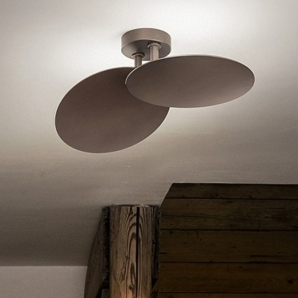 Studio Italia Design Puzzle Round Double LED Wand- & Deckenlampe thumbnail 3
