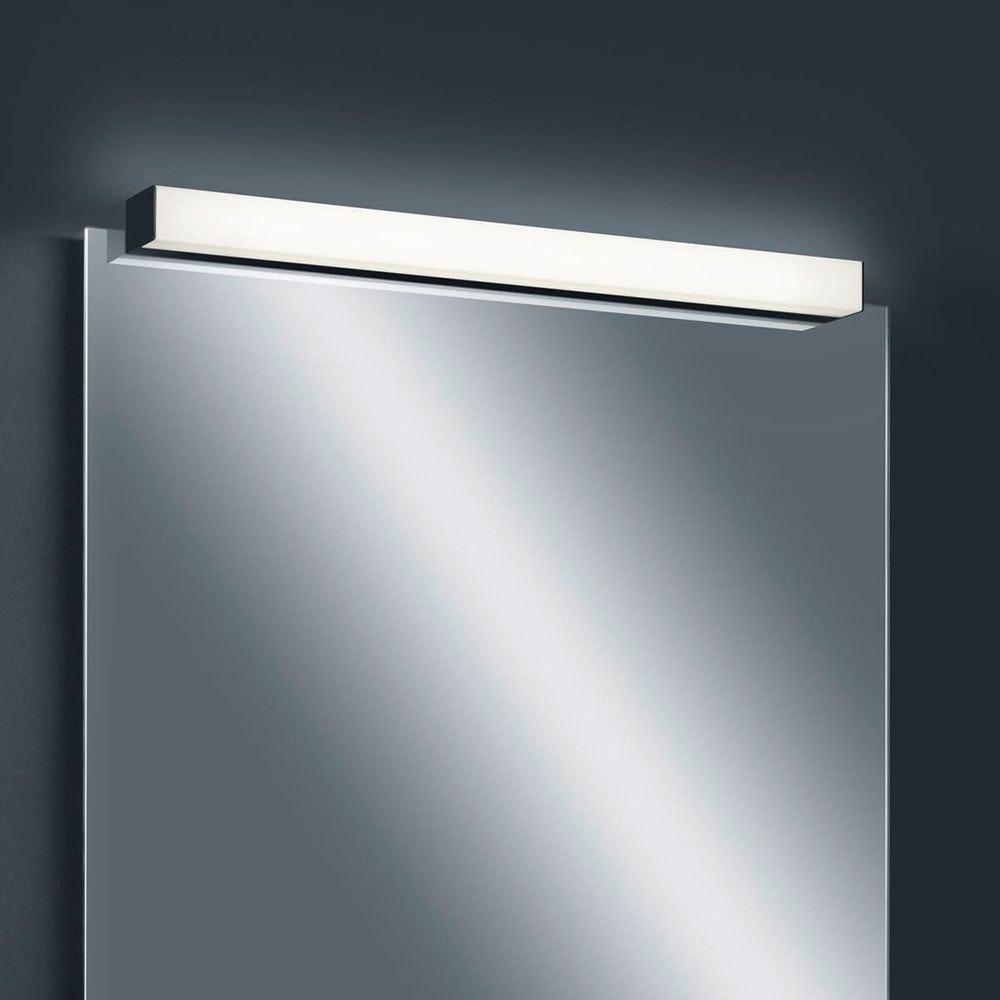 Helestra LED Spiegellampe Lado 90cm 1560lm Schwarz warmweiss 3