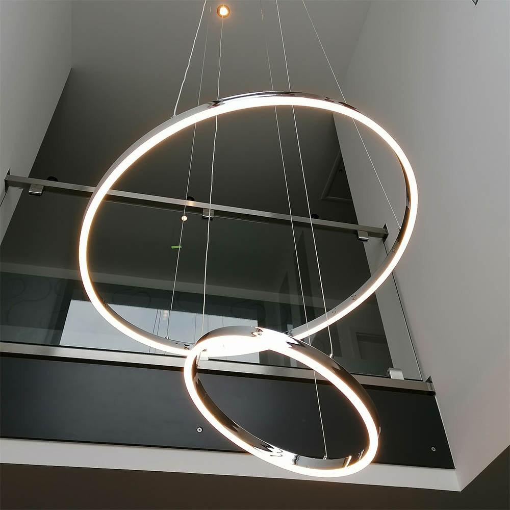 s.LUCE Ring 100 LED Hängelampe 5m Abhängung