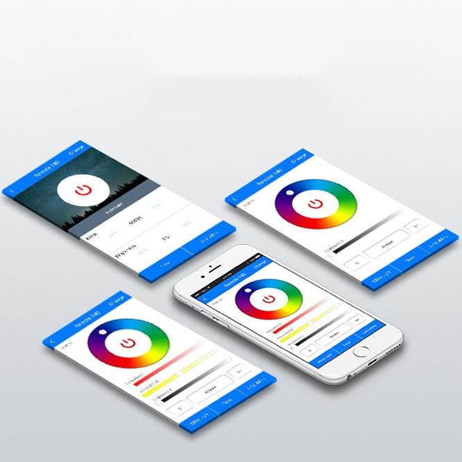 s.LUCE iLight LED WiFi-Box Alexa Kompatibel per Smartphone & Tablet 3