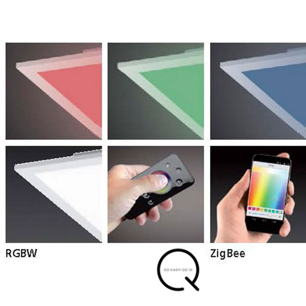 LED Deckenleuchte Q-Flag 25W RGBW Weiß 6