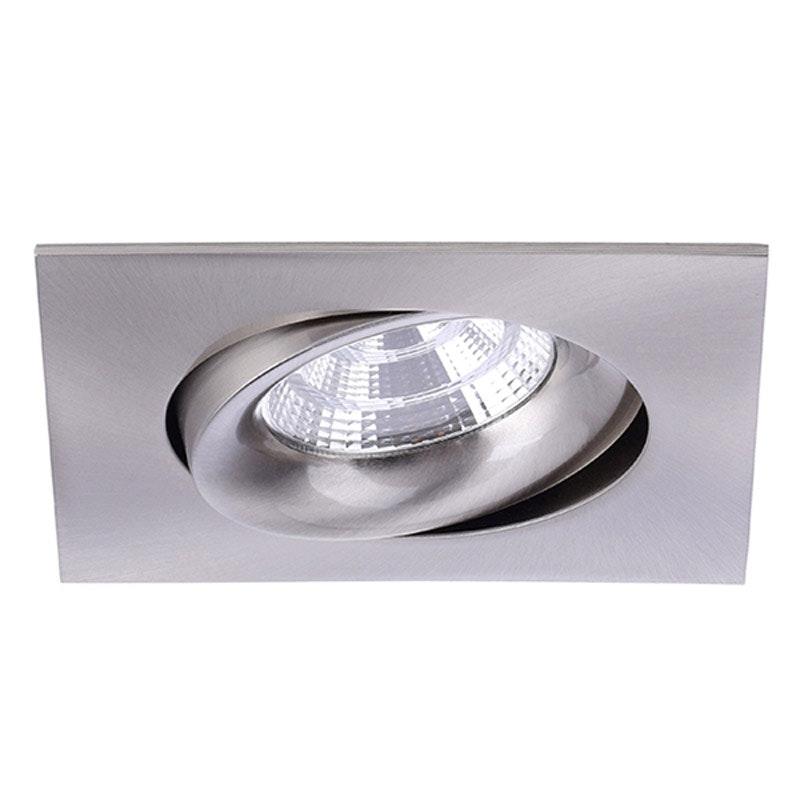 Brumberg LED Decken-Einbauleuchte Indiwo83 Nickel-Matt 1