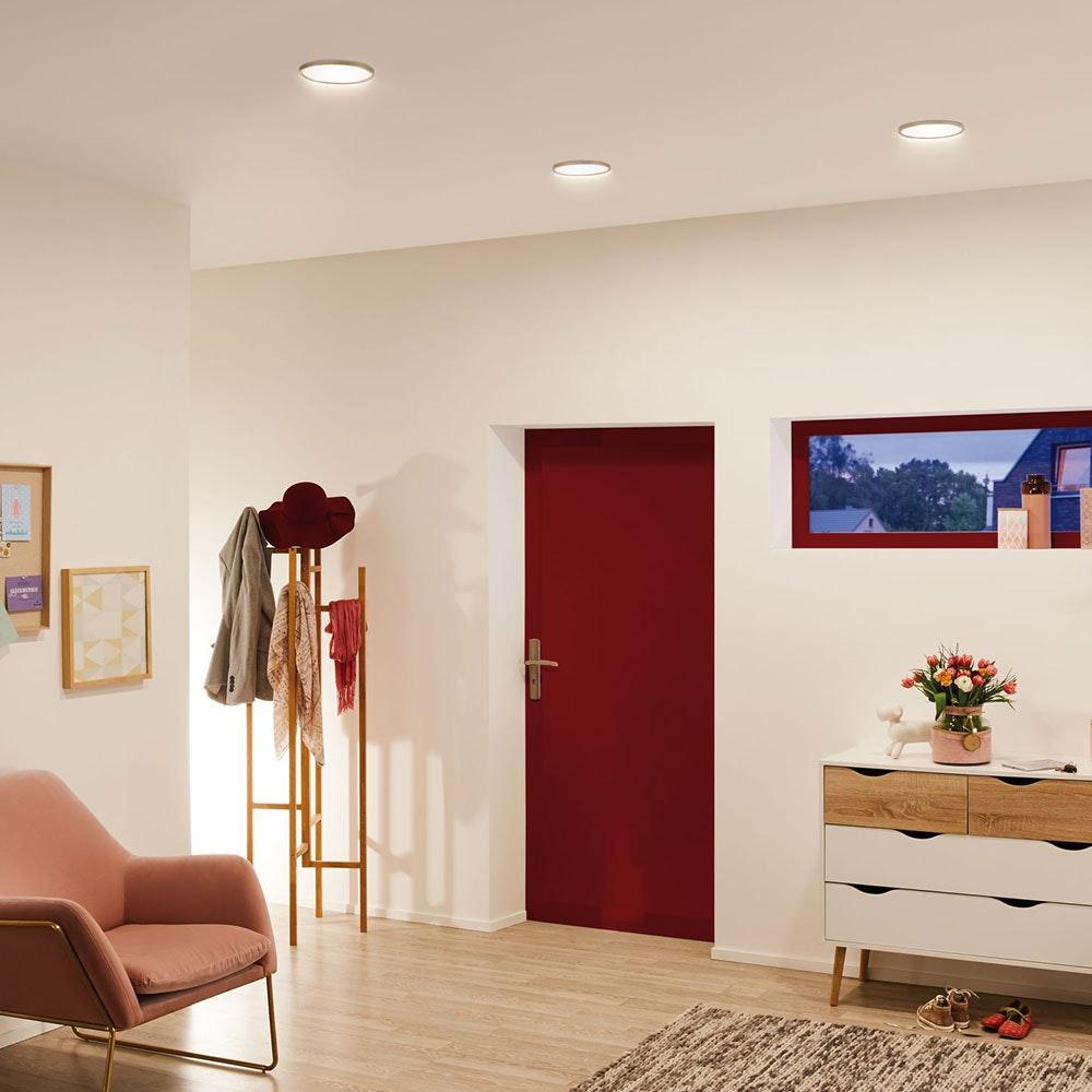 LED-Panel Einbau 1200 Lumen Ø 16,5cm rund 21