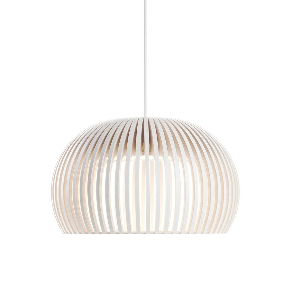 LED Pendelleuchte Atto 5000 aus Holz Ø 34cm 2
