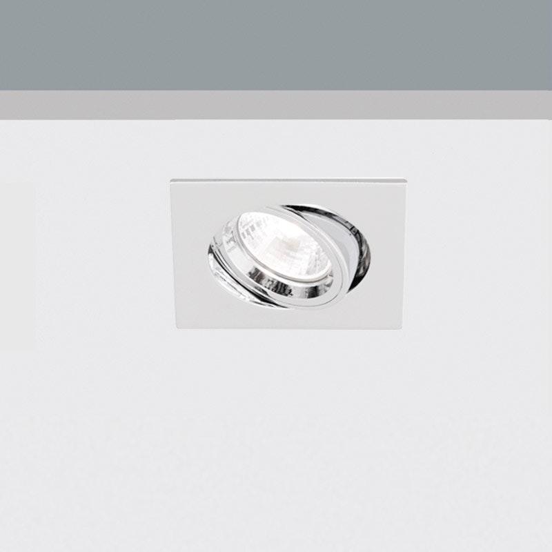 Kiteo LED Decken-Einbaustrahler K-Motus Eckig HCL Dali DT8 1