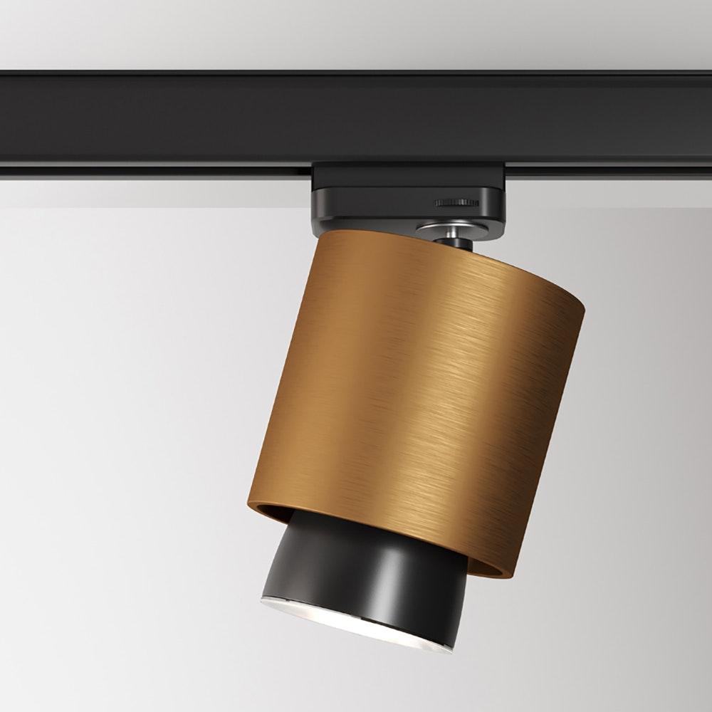 Fabbian Claque LED-Schienenleuchte Ø 10cm 2