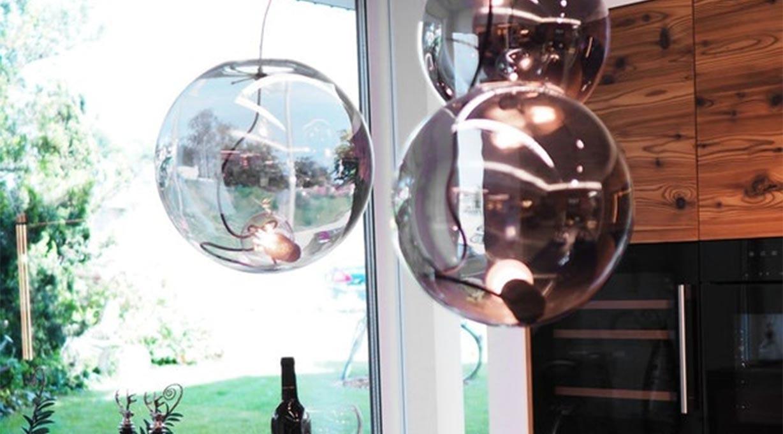 Sphere Pendelleuchte Küchentheke