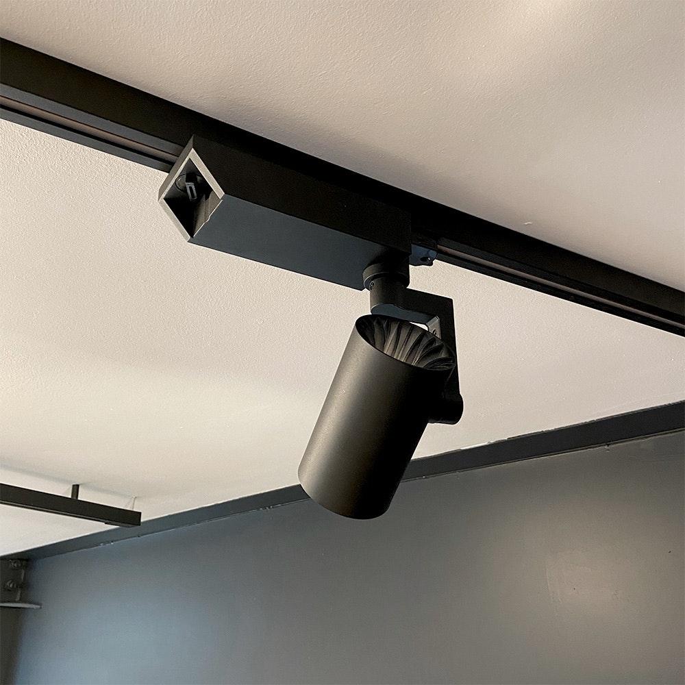 Golo 3-Phasen Power-LED Schienenstrahler 2500lm CRI>90 36°  3